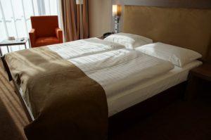 merian hotel einzelzimmer bett